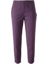 M Missoni Cropped Trousers Pink And Purple