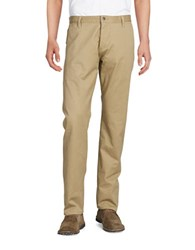 Dockers Alpha Stretch Khaki Slim Tapered Pant Beige