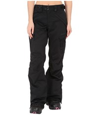 686 Authentic Smarty Cargo Pant Black Diamond Dobby Women's Outerwear