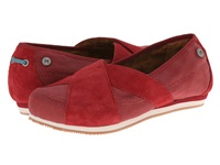 Mozo Sport Suede Canvas Red Women's Shoes