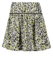 Morgan Mini Skirt Citron Yellow
