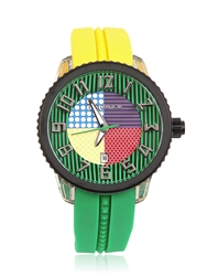 Tendence Crazy Medium Watch Yellow Green