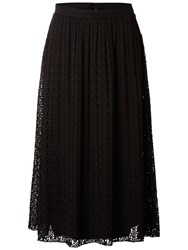 Selected Femme Diny Lace Skirt Black
