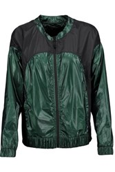 Koral Tempo Paneled Shell Jacket Forest Green