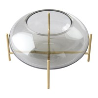 Menu Echasse Hurricane Smoke Brushed Brass