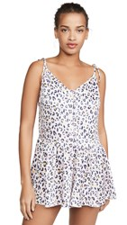 Honeydew Intimates Sugar And Spice Romper Leopard