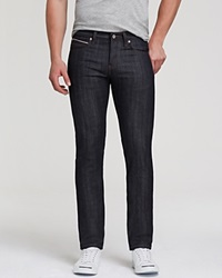 Naked And Famous Jeans Superskinnyguy Stretch Selvedge Super Slim Fit In Deep Indigo