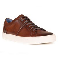 Oliver Sweeney Laine Leather Trainers Chestnut