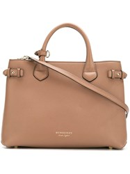 Burberry 'House Check' Tote Bag Brown
