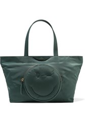 Anya Hindmarch Chubby Medium Shell Tote Army Green