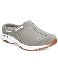 Easy Spirit Travelport Mules Women's Shoes Grey