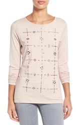 Women's Vince Camuto Embellished Long Sleeve Top