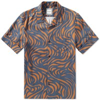 Wooyoungmi Short Sleeve Printed Shirt Multi