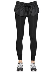 Adidas By Stella Mccartney Performance Tight Fit Leggings W Shorts