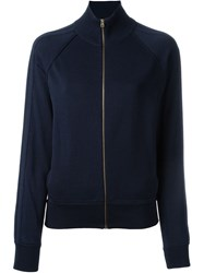 Chloe Zipped Sweatshirt Blue