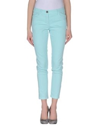 Marc Cain Casual Pants Turquoise