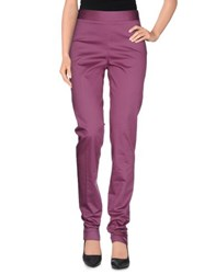 Iceberg Trousers Casual Trousers Women Mauve