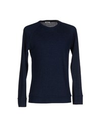 .. Beaucoup Knitwear Jumpers Men Dark Blue