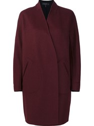Rag And Bone 'Singer' Coat Red