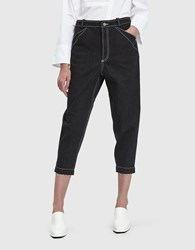 Nehera Paulo Thick Cotton Denim Pant Black