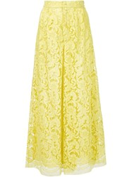 Adam By Adam Lippes Adam Lippes Wide Leg Trousers Yellow And Orange