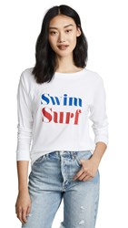 South Parade Swim Surf Tee White