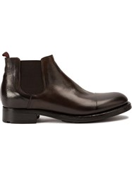 Silvano Sassetti Low Ankle Desert Boots Brown