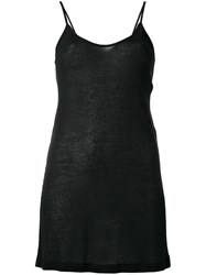 Ann Demeulemeester Low Back Camisole Black