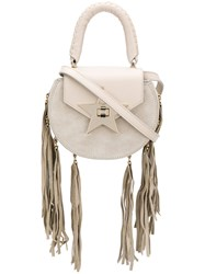 Salar Fringed Crossbody Bag Nude And Neutrals