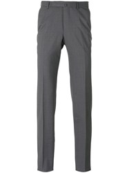 Ermenegildo Zegna High Performance Trousers Men Viscose Wool 52 Grey