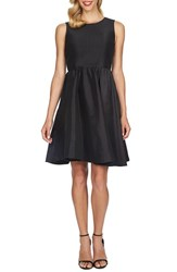 Women's Cece By Cynthia Steffe Open Back Stretch Taffeta Fit And Flare Dress With Bow Detail