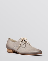 Paul Green Lace Up Oxford Flats Bastion Perforated