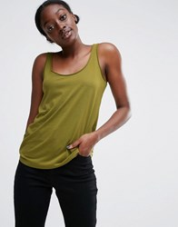 Asos The Ultimate Vest Olive Green