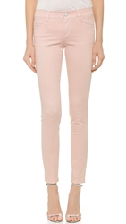 Stella Mccartney The Skinny Long Jeans Pale Pink