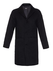 A.P.C. Notch Lapel Knitted Coat