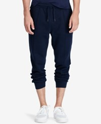 Polo Ralph Lauren Men's Ribbed Jogger Pants Cruise Navy