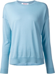 Organic By John Patrick Crew Neck Sweater Blue