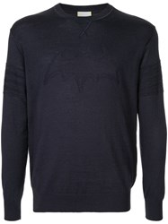 Iceberg Batman Jumper Blue