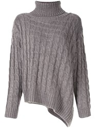 Le Ciel Bleu Cable Knit Jumper 60