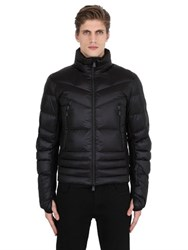 Moncler Canmore Shiny Nylon Down Ski Jacket