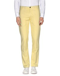 Betwoin Trousers Casual Trousers Men Yellow
