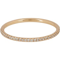 Champagne Diamond And Rose Gold Eternity Band