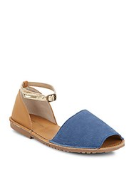 Kenneth Cole Reaction Away Day Colorblock D'orsay Sandals Marine