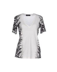 Diesel Black Gold Topwear T Shirts Women White