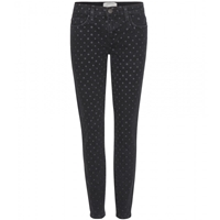 Current Elliott Polka Dot Skinny Jeans
