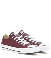 Converse Chuck Taylor All Star Leather Sneakers Red