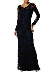 Phase Eight Collection 8 Aubree Tapework Dress Black Midnight