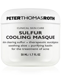 Peter Thomas Roth Sulfur Cooling Masque 1.7 Oz No Color