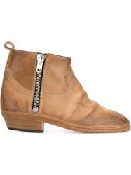 Golden Goose Deluxe Brand 'Viand' Boots Nude And Neutrals