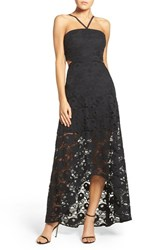 Ali And Jay Women's Lace High Low Gown